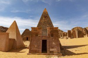 Sudan Pyramiden von Meroe